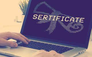 Где хранится на компьютере сертификат электронной подписи