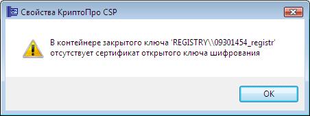 Свойства КриптоПро
